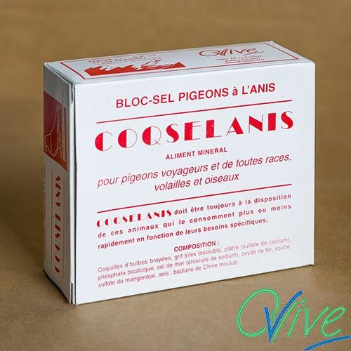 Bloc pigeons Coqselanis