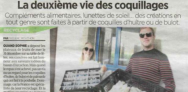 [Le Parisien] La deuxième vie des coquillages