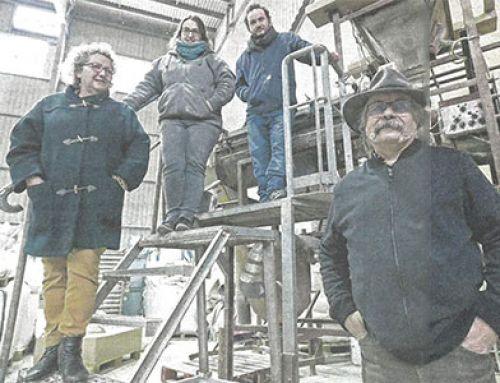 [Sud-Ouest] Recyclage des coquilles d'huîtres par la société Ovive